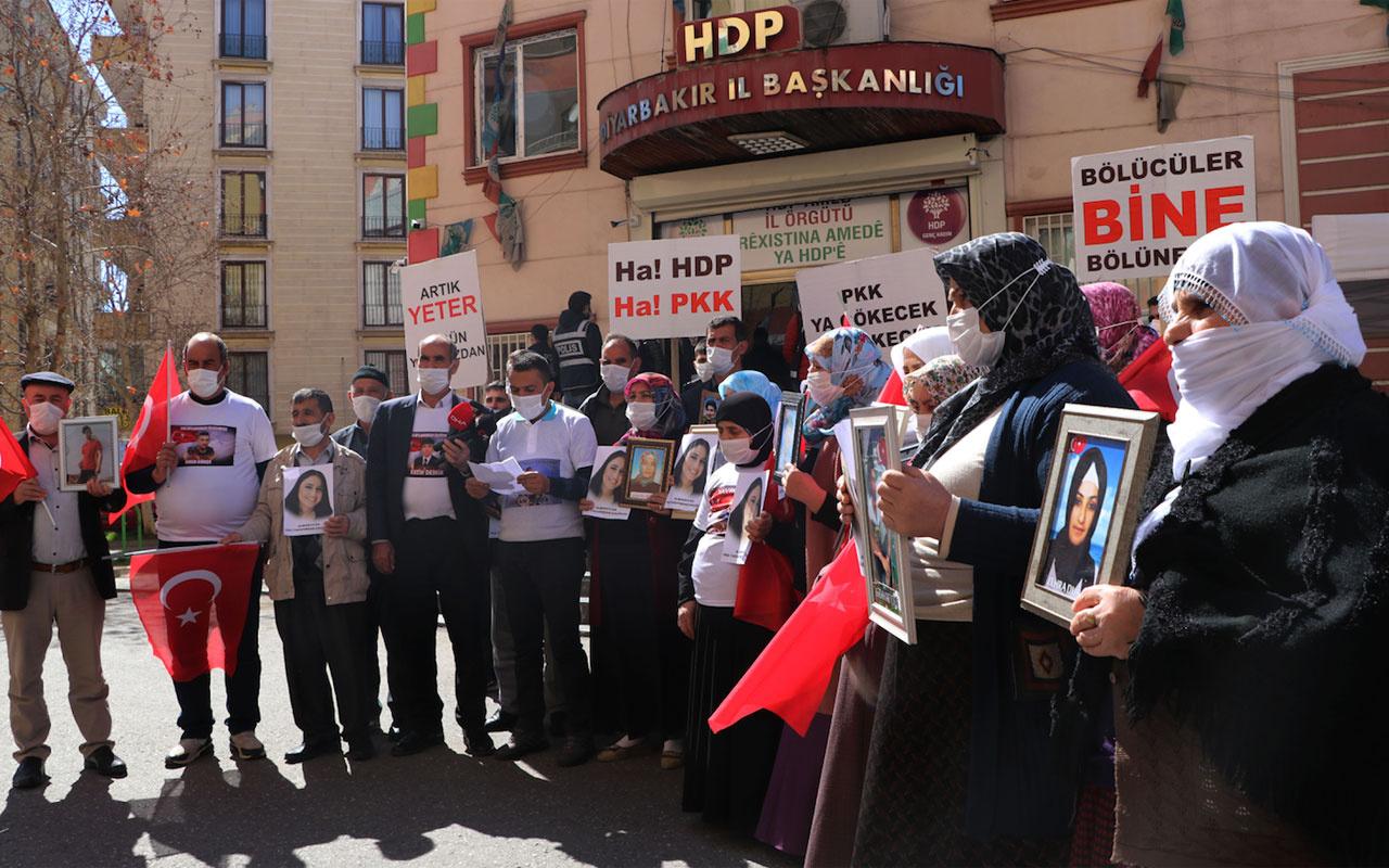 HDP'ye kapatılma iddianamesi evlat nöbetindeki aileleri sevindirdi