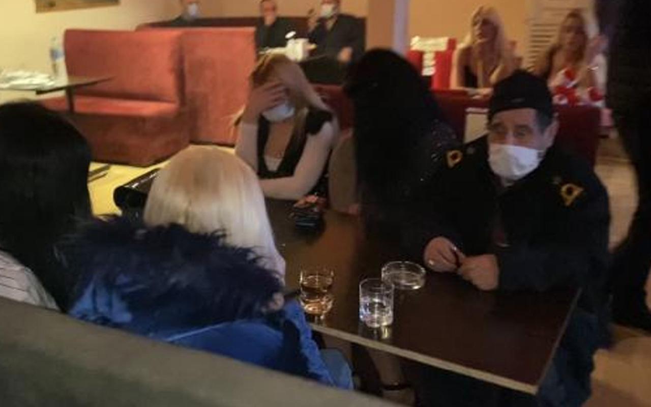 Maltepe ve Pendik'te lokantaları pavyona çevirdiler! 72 kişiye ceza yağdı