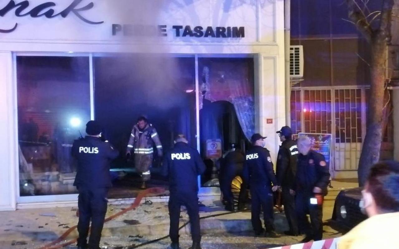 Maltepe'de çıkan yangında 57 yaşındaki adam hayatını kaybetti