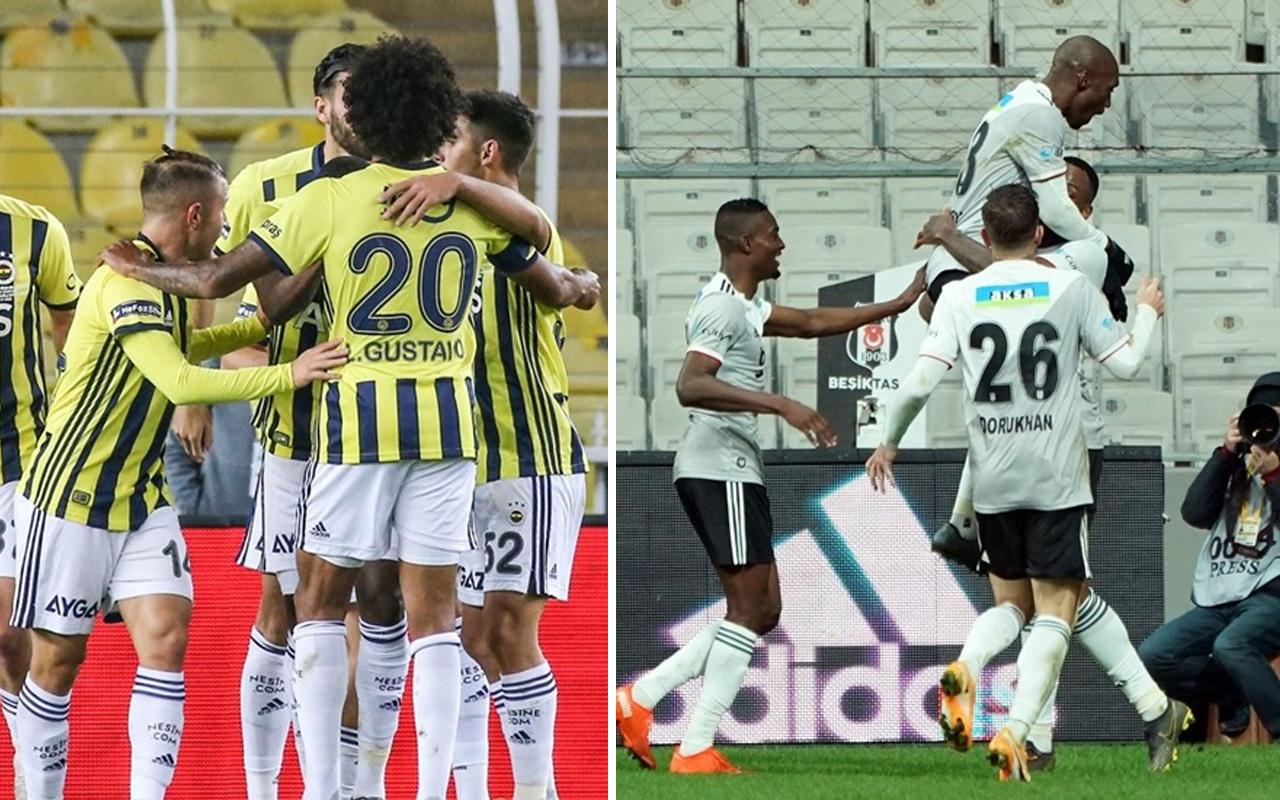 Beşiktaş iç saha Fenerbahçe ise deplasman performansına güveniyor