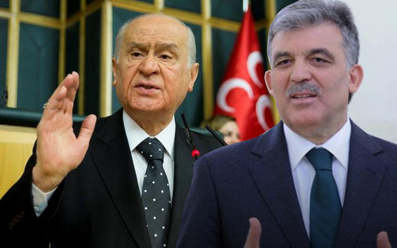 Devlet Bahçeli'den Abdullah Gül'e sert mesaj: HDP veya CHP'ye katılması isabetli olur