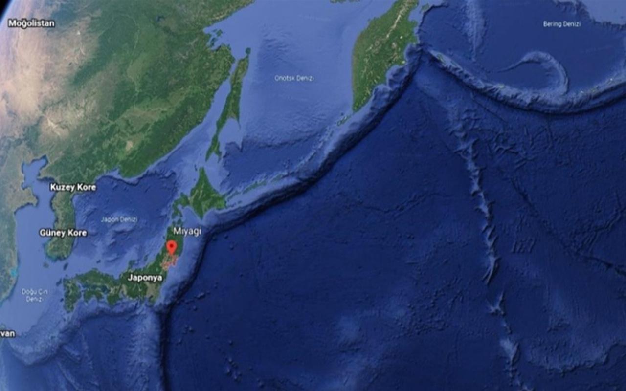 Son dakika Japonya'da 7.2 büyüklüğünde deprem!