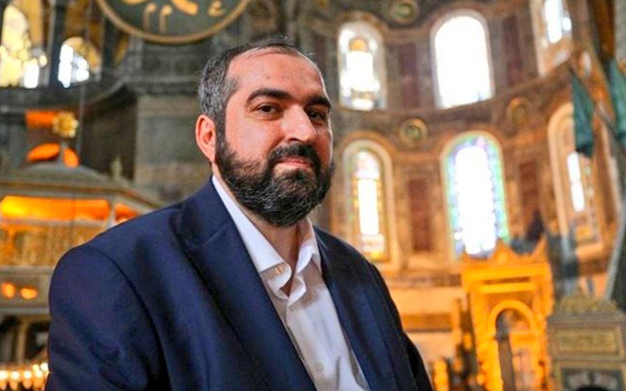 Ayasofya imamı Mehmet Boynukalın'dan İstanbul Sözleşmesi paylaşımı: Allah razı olsun
