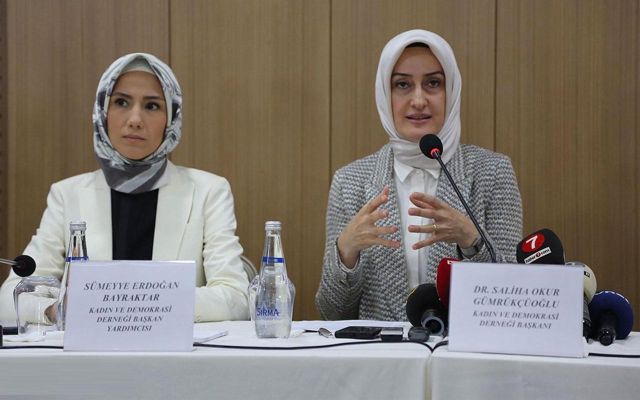 Sümeyye Erdoğan'ın başkanı yardımcısı olduğu KADEM'den İstanbul Sözleşmesi yorumu