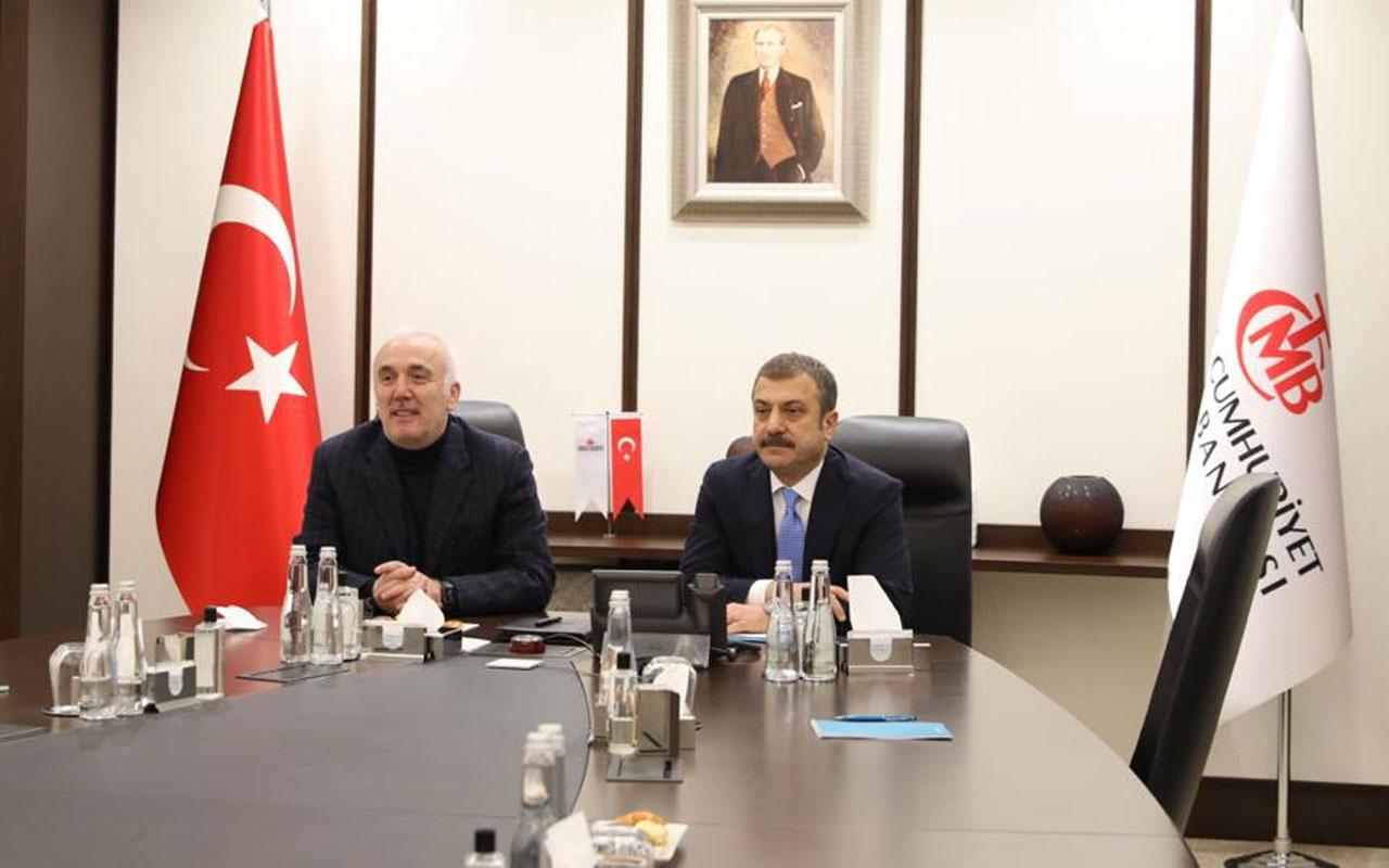 Merkez Bankası Başkanı Kavcıoğlu mesaisine başladı