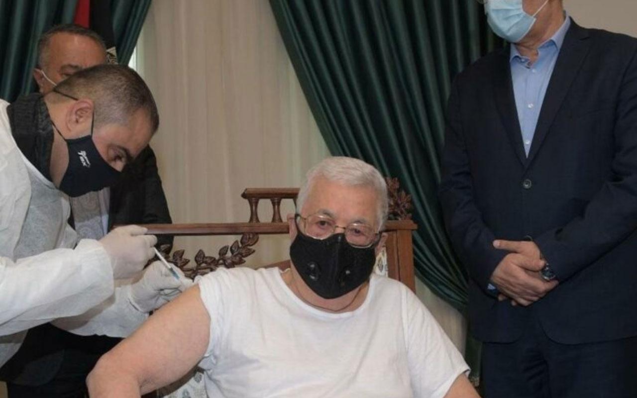 Filistin Devlet Başkanı Abbas Covid-19 aşısı oldu