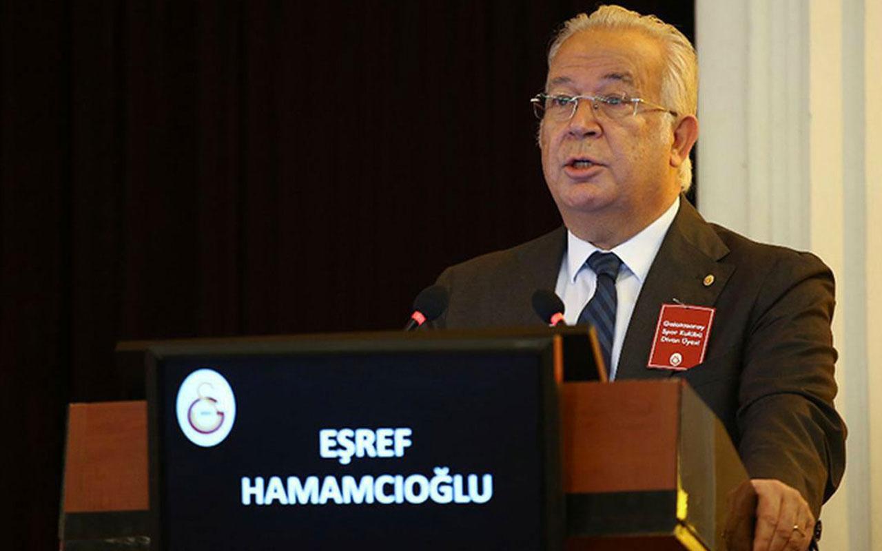 Galatasaray'da Eşref Hamamcıoğlu, başkanlık için adaylığını açıkladı