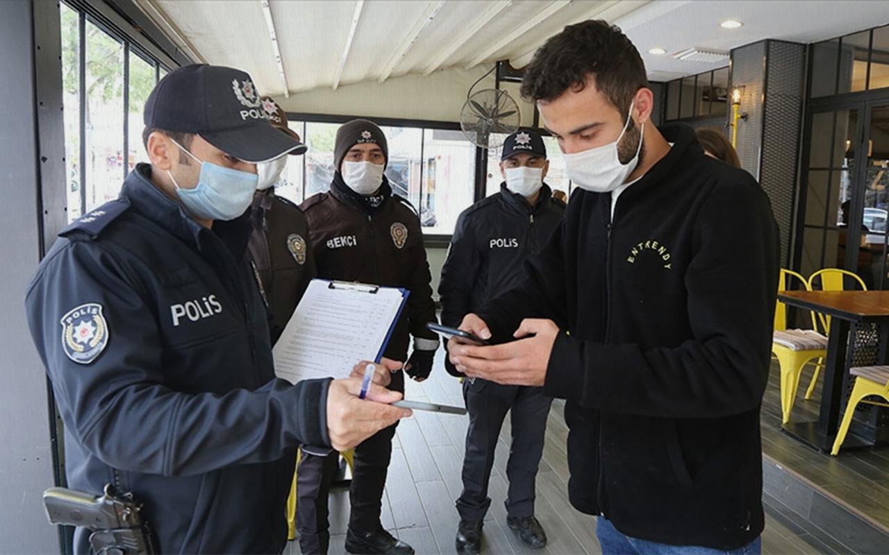 İçişleri Bakanlığı denetimlerde 2 bin 839 idari işlem uygulandığını bildirdi