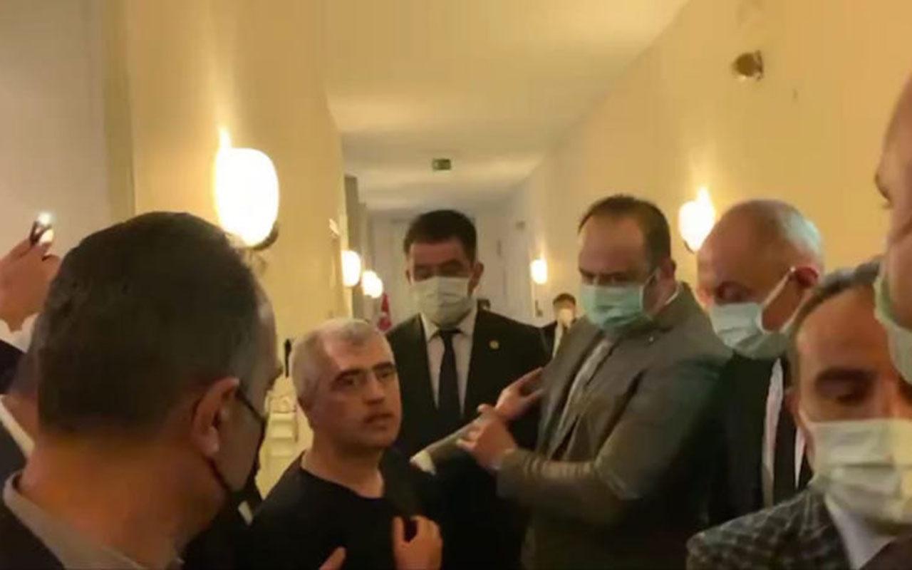 HDP'li Ömer Faruk Gergerlioğlu Meclis'te gözaltına alındı! Cezaevine gönderilecek