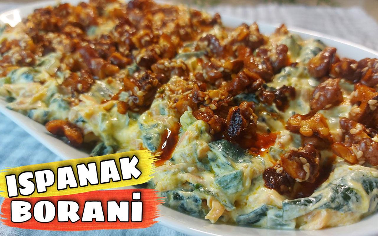 Ispanak borani nasıl yapılır yemeye doyamayacağınız lezzet!
