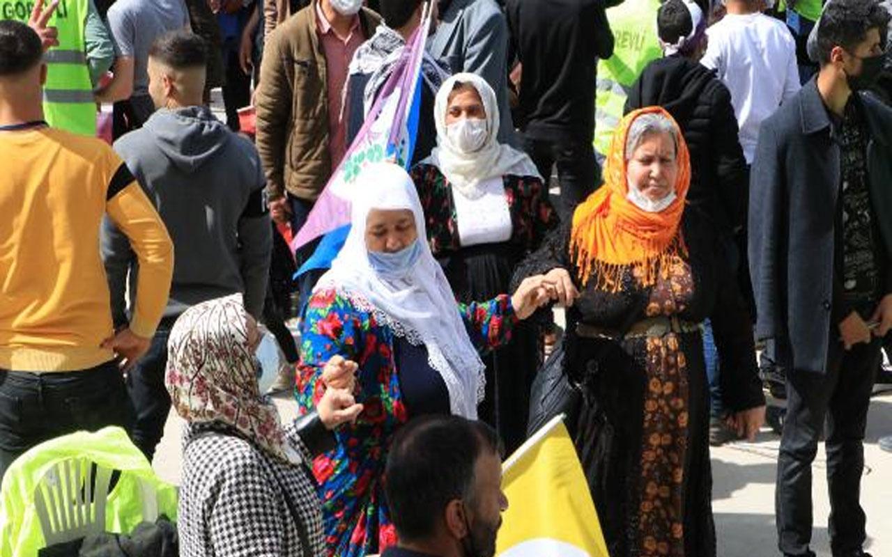 Şanlıurfa'daki nevruz kutlaması! Yasa dışı slogan attıkları belirlenen 3 kişi gözaltına alındı