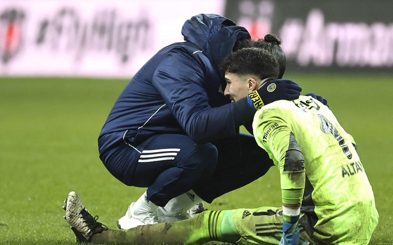 Fenerbahçe'yi ipten alan Altay Bayındır neden ağladığını anlattı