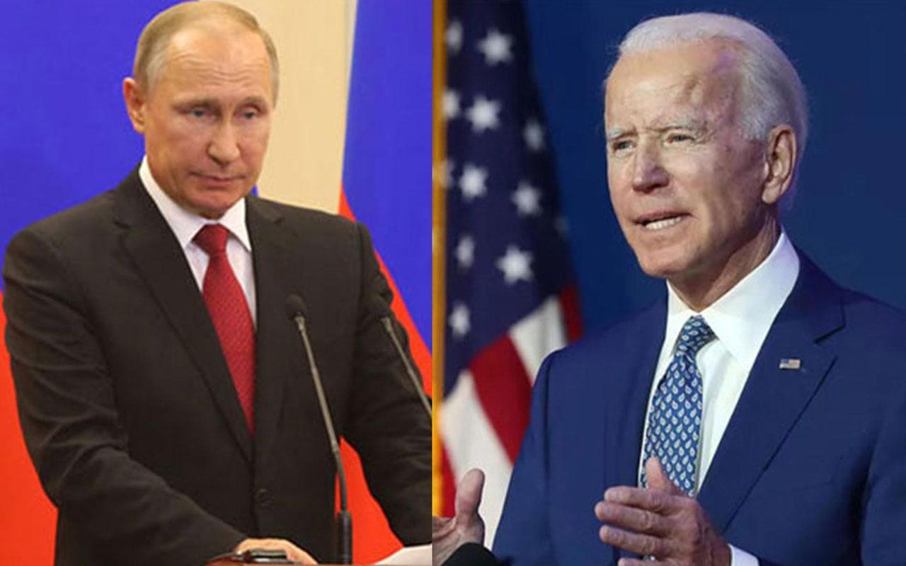ABD Başkanı Biden Putin'in görüşme teklifini reddetti