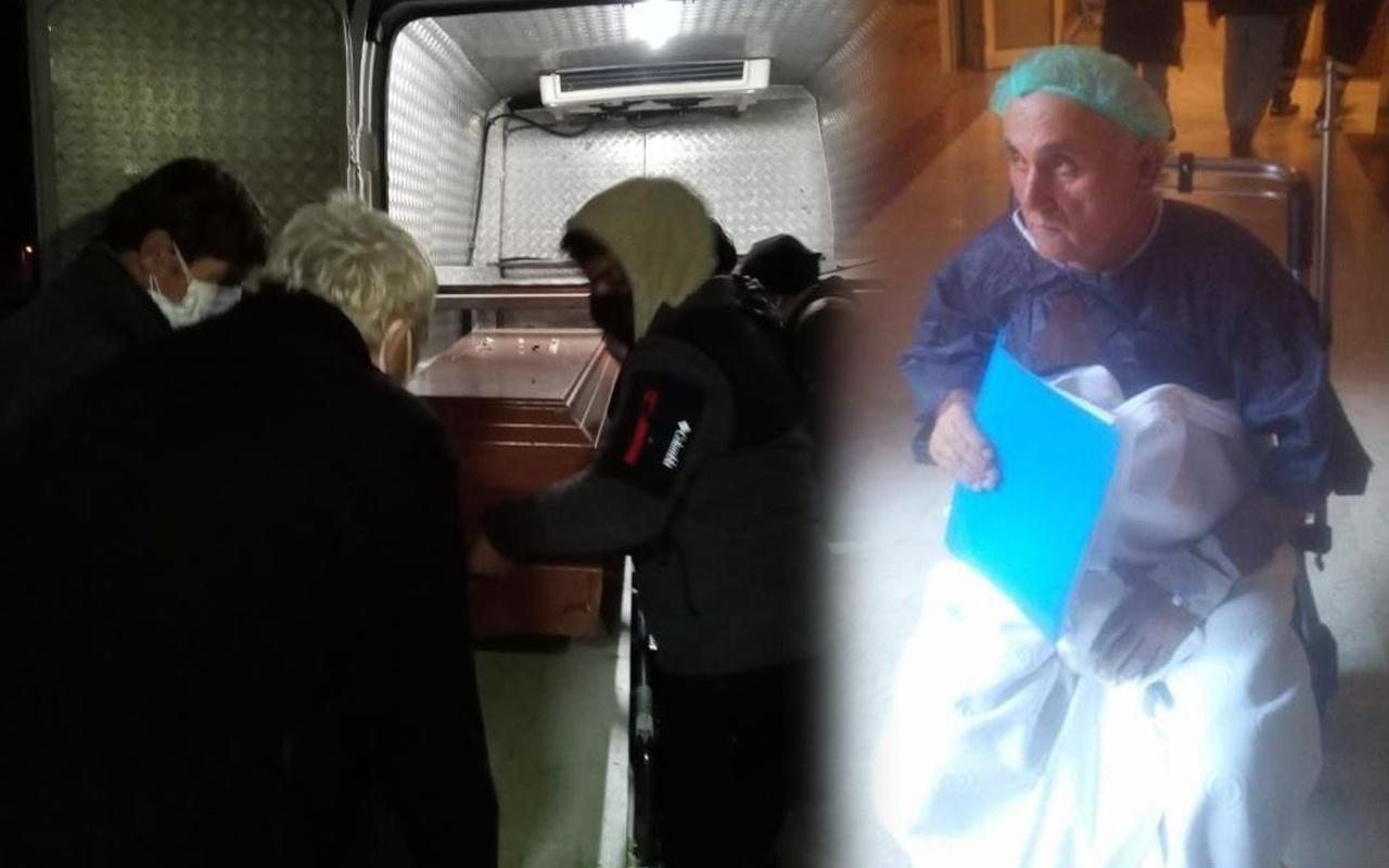 Zonguldak'ta yaşlı çiftin evine giren yeğenleri hayatının şokunu yaşadı