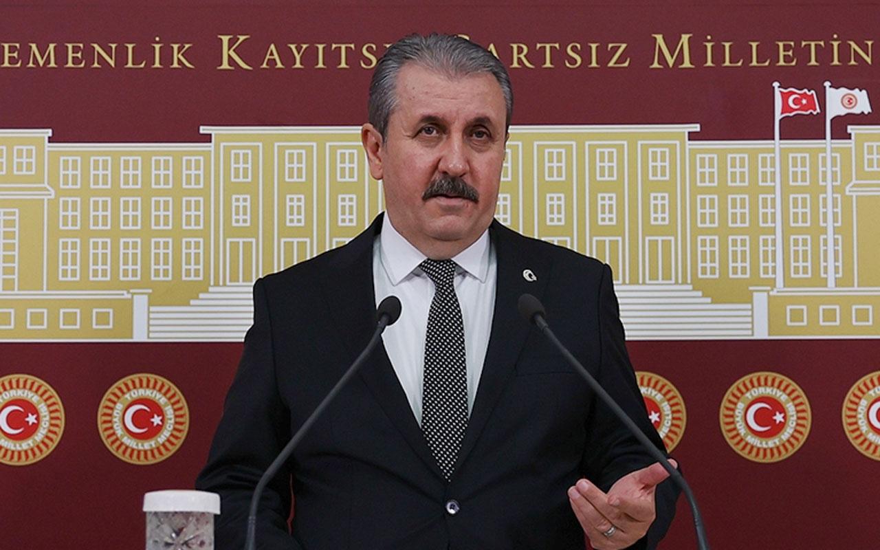 BBP Genel Başkanı Mustafa Destici: Biz özgürlük adı altında sapkınlıklara evet diyemeyiz