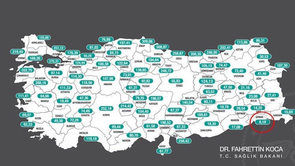 Risk haritasında 1 haftada 14 il daha kızardı! İşte tek mavi kalan şehrin sırrı