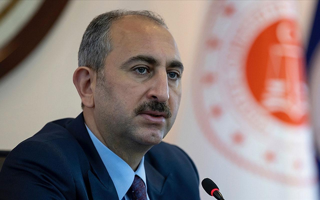 Adalet Bakanı Abdulhamit Gül'den kadına şiddetle mücadele açıklaması