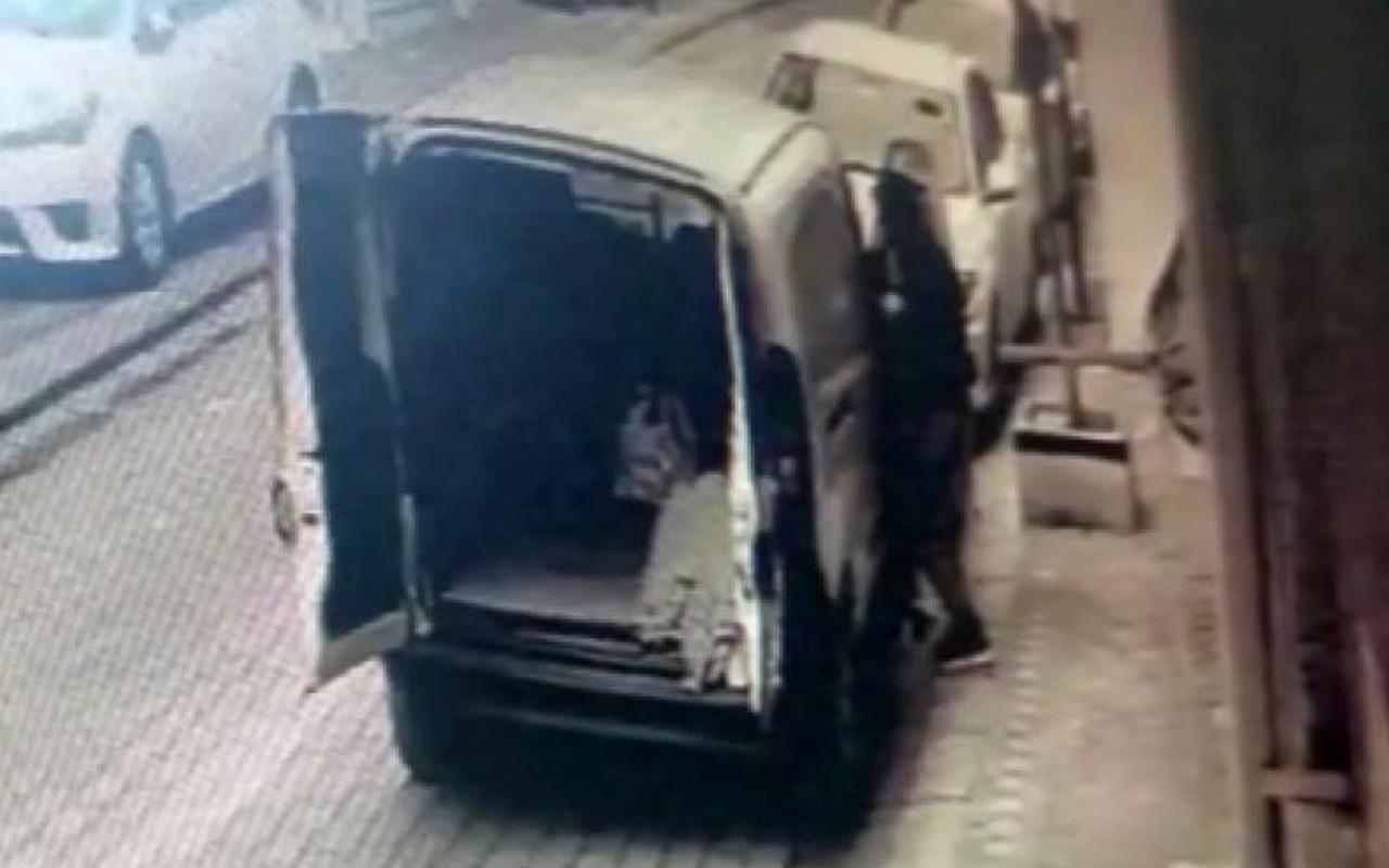 İstanbul'da kameraya bakınca fark etti! Hırsızın pişkin hali pes dedirtti