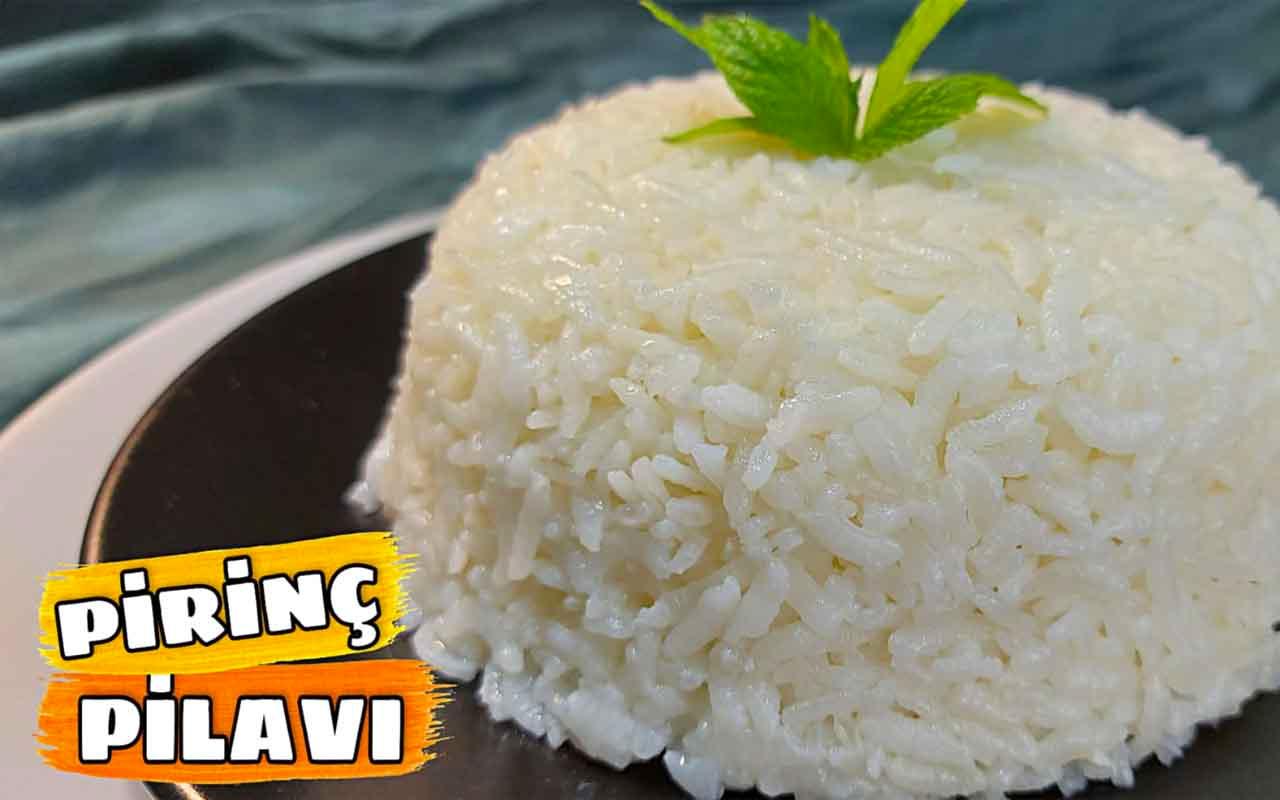 Pirinç pilavı nasıl yapılır tane tane lezzet!