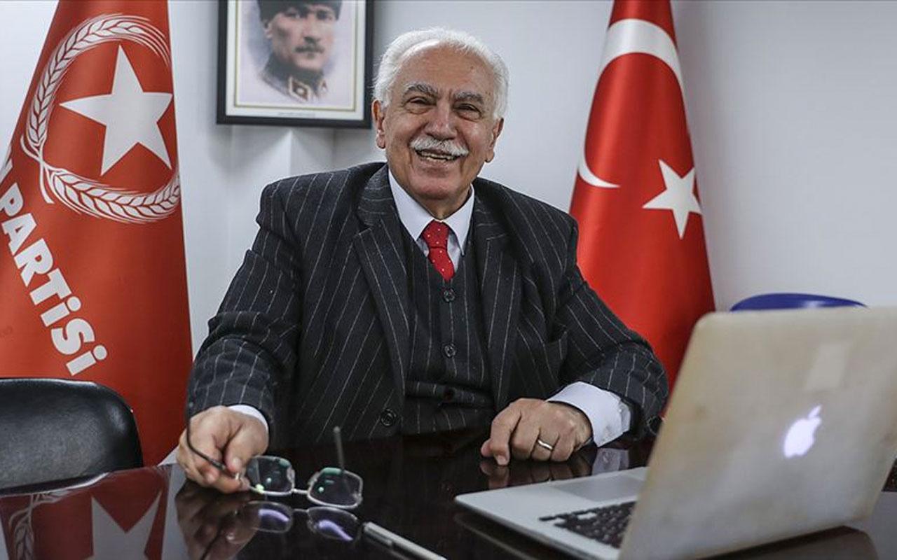 Doğu Perinçek'ten Ayasofya imamı Mehmet Boynukalın'a destek