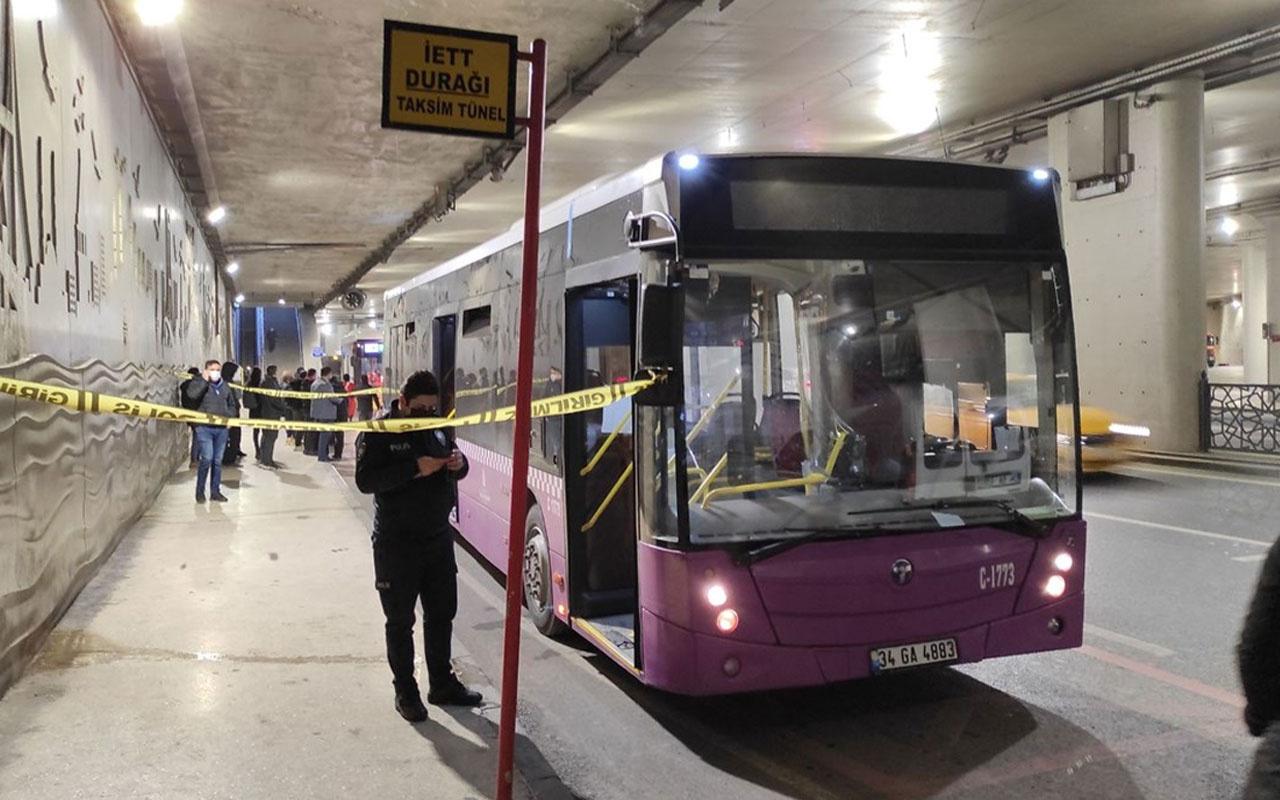 15 yıla kadar hapis cezası isteniyordu! Çaldığı İETT otobüsüyle Taksim'e giden sanık tahliye edildi