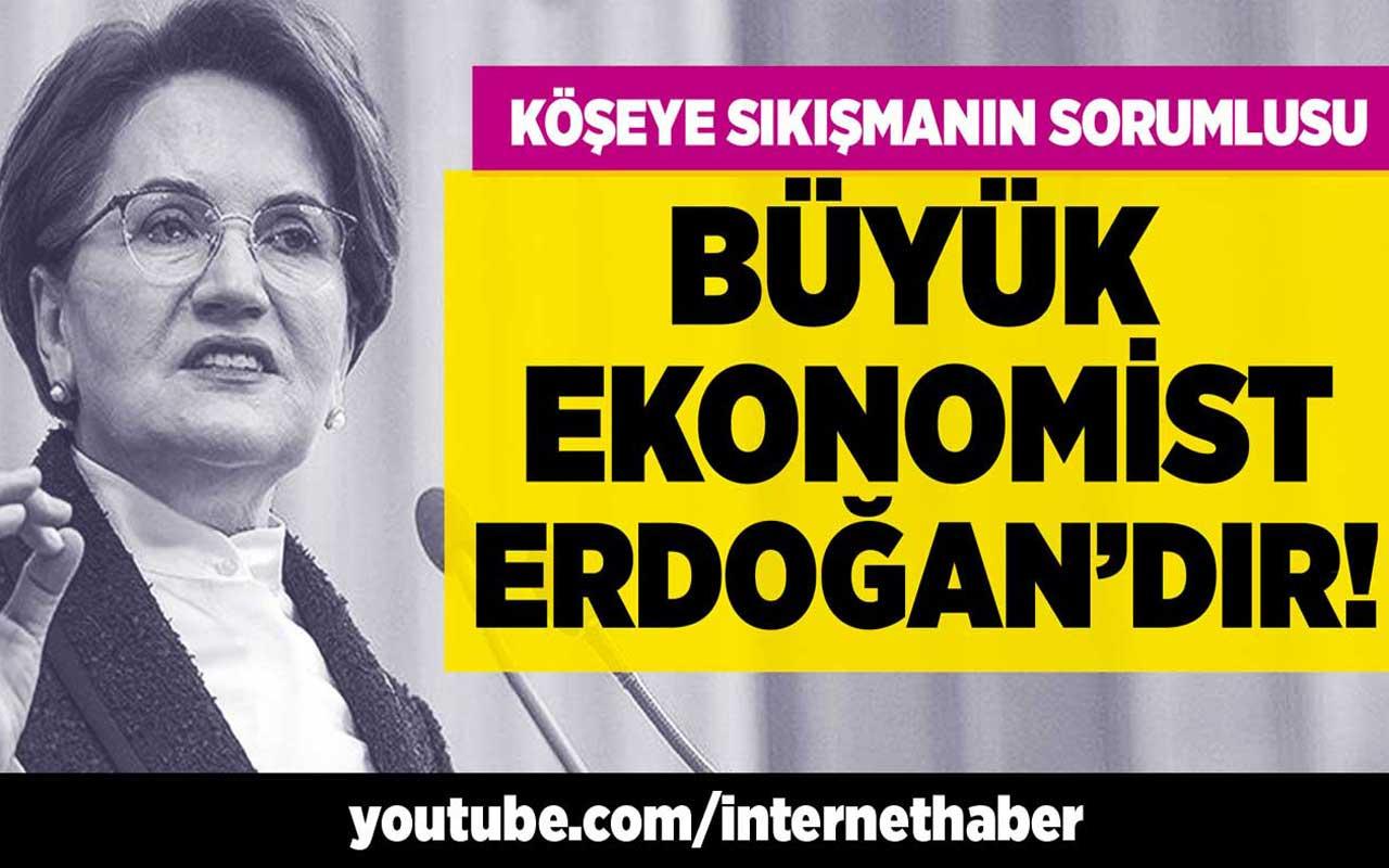 Köşeye sıkışmanın sorumlusu büyük ekonomist Erdoğan'dır!