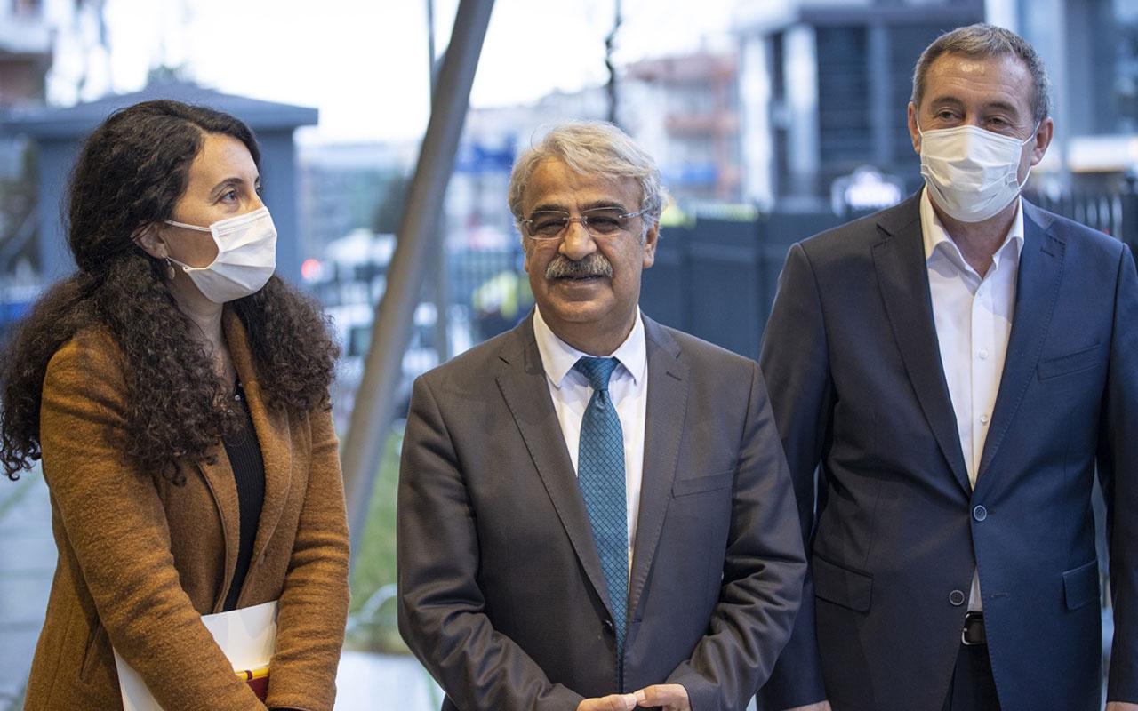 HDP Eş Genel Başkanı Mithat Sancar, Davutoğlu'nu ziyaret etti