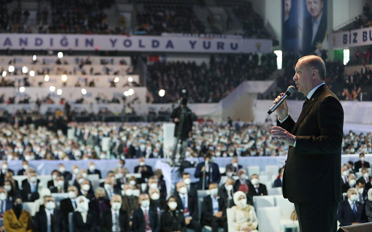 AK Parti 7. Olağan Kongresi'nde Cumhurbaşkanı Erdoğan'dan vatandaşa dolar ve altın çağrısı