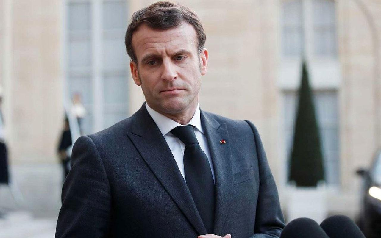 Fransa Cumhurbaşkanı Macron iyice saçmaladı! Türkiye  müdahale edebilir