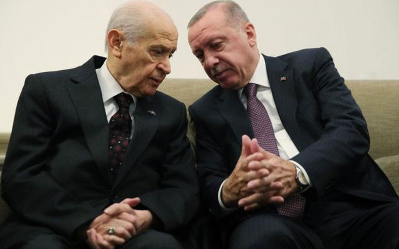 Devlet Bahçeli'den Cumhurbaşkanı Erdoğan'a tebrik telefonu