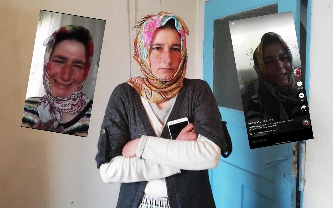 Kütahya'da 'evimizi basıyorlar' diyerek ağlayan kadın konuştu