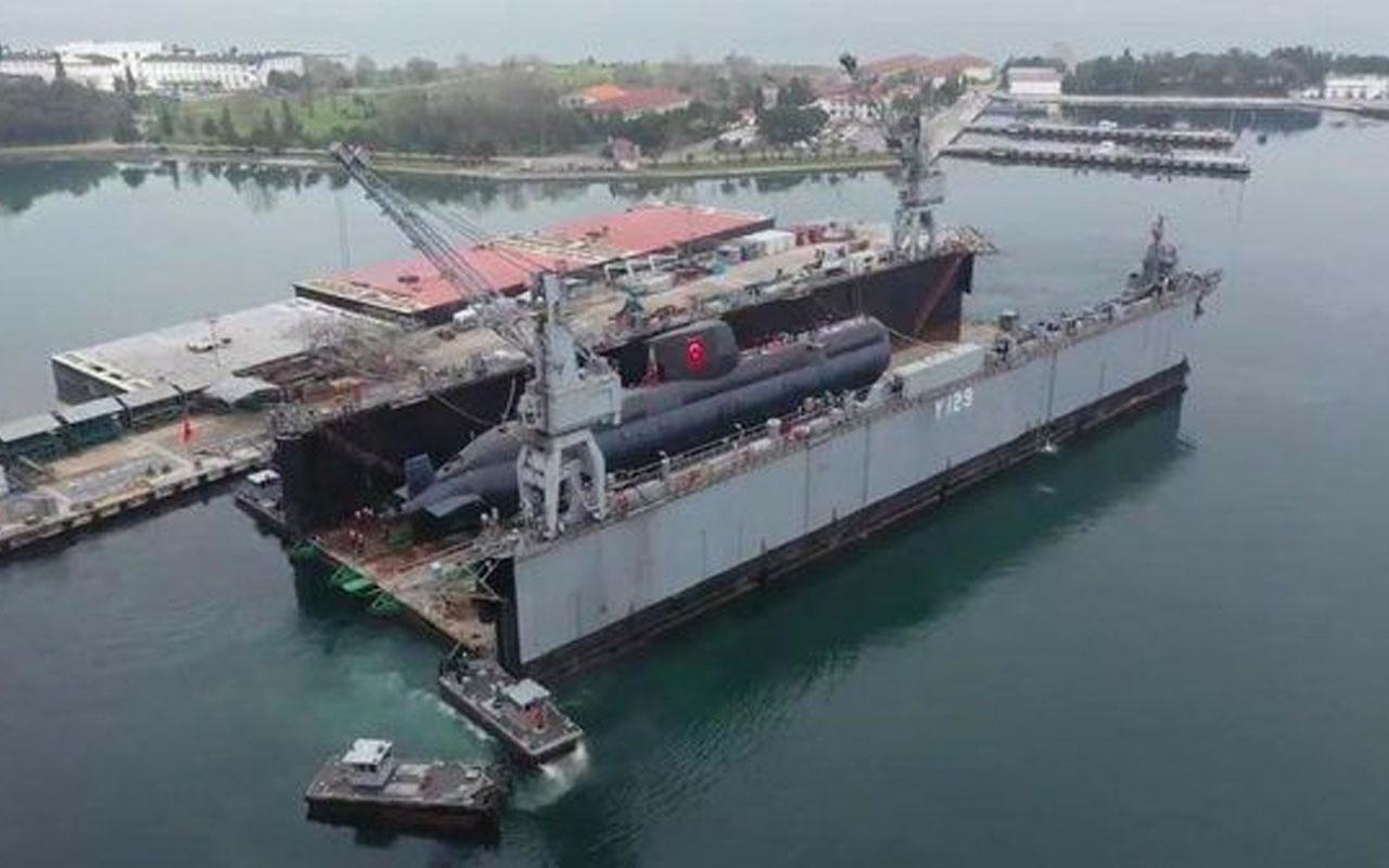 Türkiye'nin ilk milli denizaltısı TCG Pirireis Mavi Vatan'la buluştu