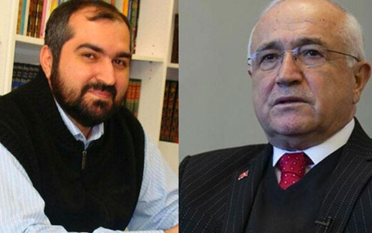 Cemil Çiçek'ten Ayasofya Baş İmamı Mehmet Boynukalın'a tepki! Arkanda herkes namaz kılıyor