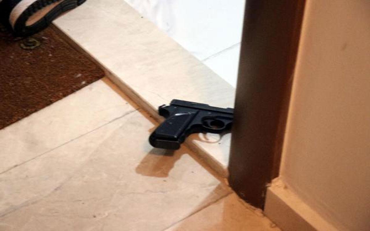 Bolu'da dehşet! Barışmayı kabul etmeyen sevgilisinin kapısının önünde kendini vurdu