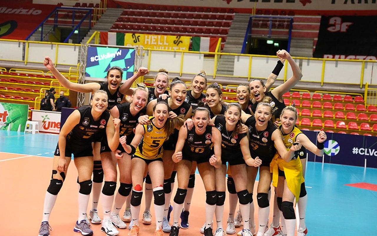 VakıfBank, Şampiyonlar Ligi'nde 9. kez finalde