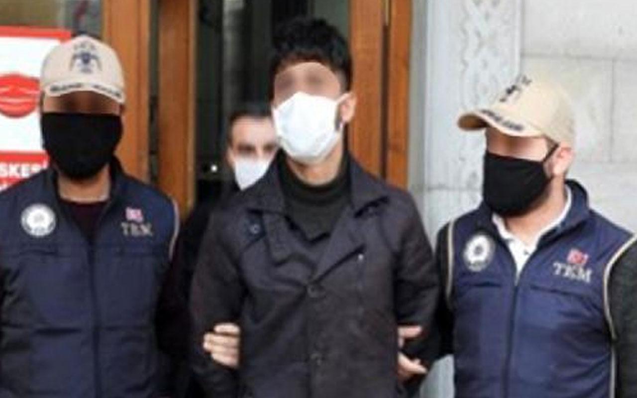 Ağrı'da 2 aracı kundaklayıp tehdit notu bıraktı! HDP'li yönetici tutuklandı