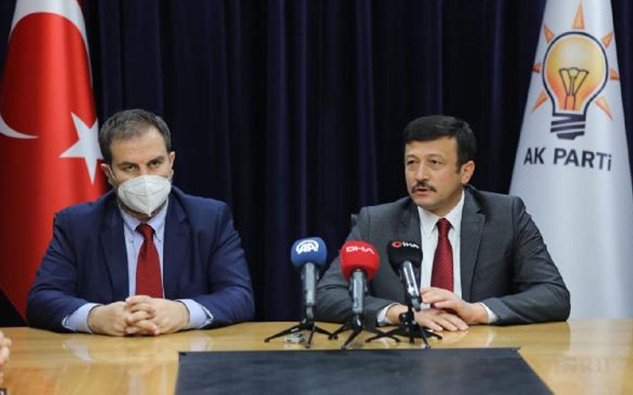 AK Parti AR-GE ve Eğitim Başkanlığı'nda devir teslim! Hamza Dağ görevini Mustafa Şen'e devretti