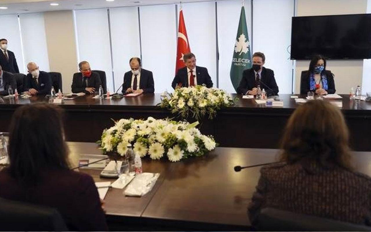 Ahmet Davutoğlu AB ülkelerinin büyükelçileri ile görüştü