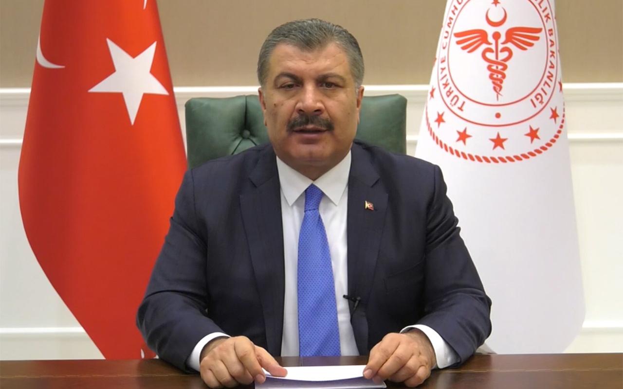 Sağlık Bakanı Koca'dan kritik açıklamalar