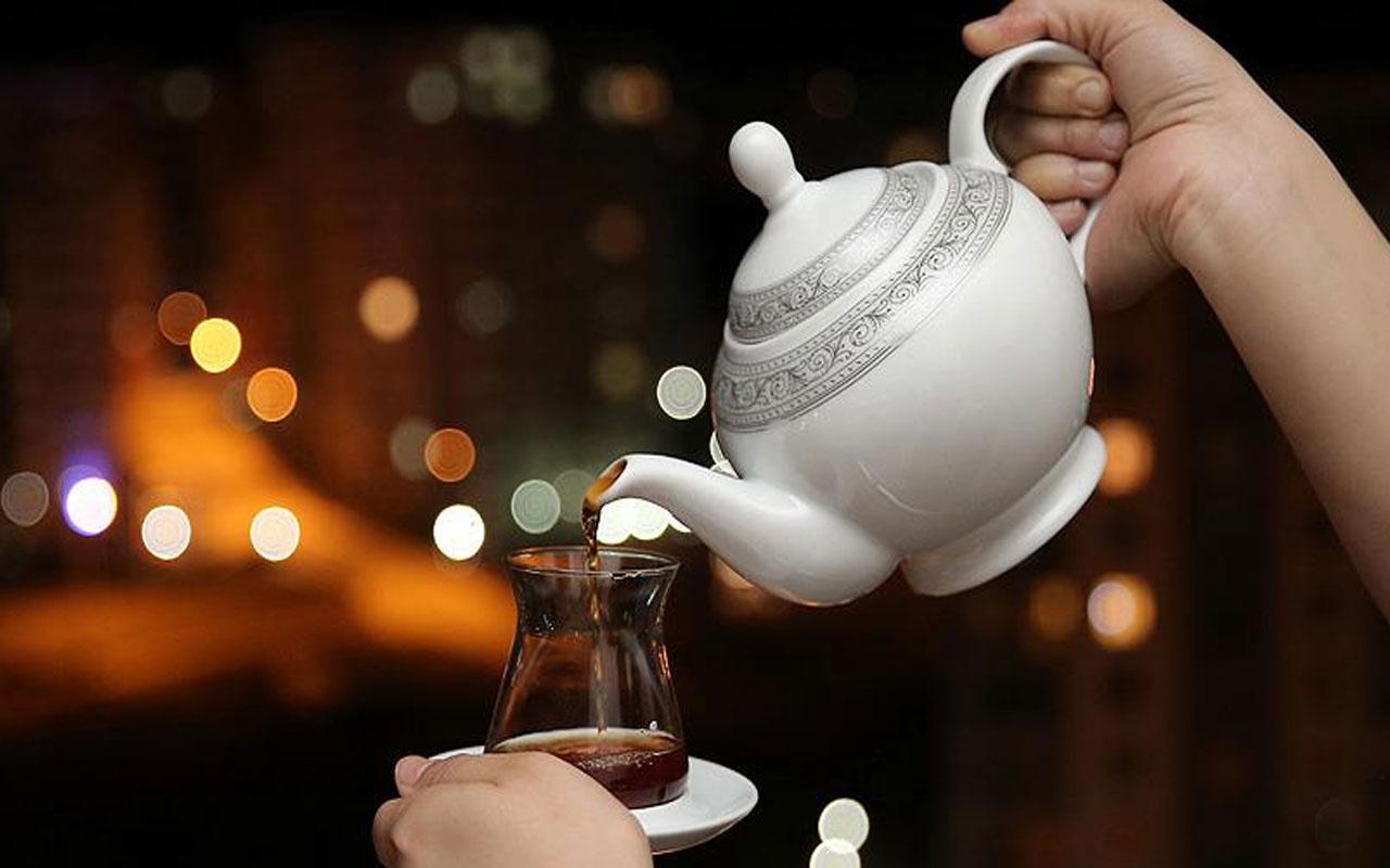Kanser riskini 5 kat artırıyor! Çay içerken sıcaklığına dikkat