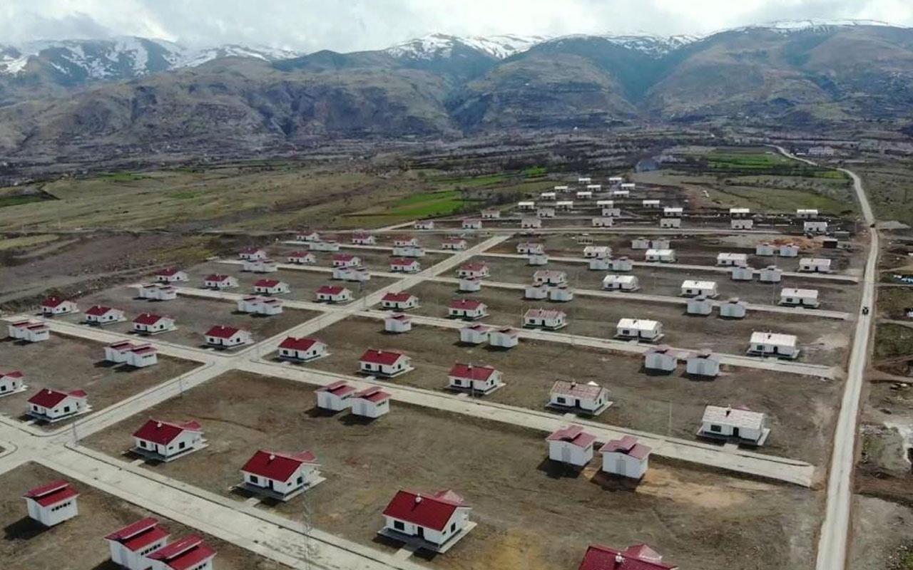 Malatya'daki TOKİ köy evlerinde sona gelindi