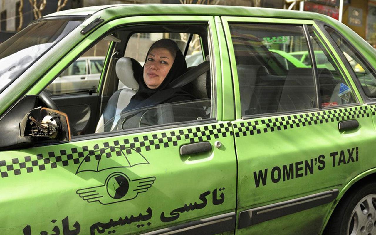 İran'da kadınlar bu mesleğe de el attı