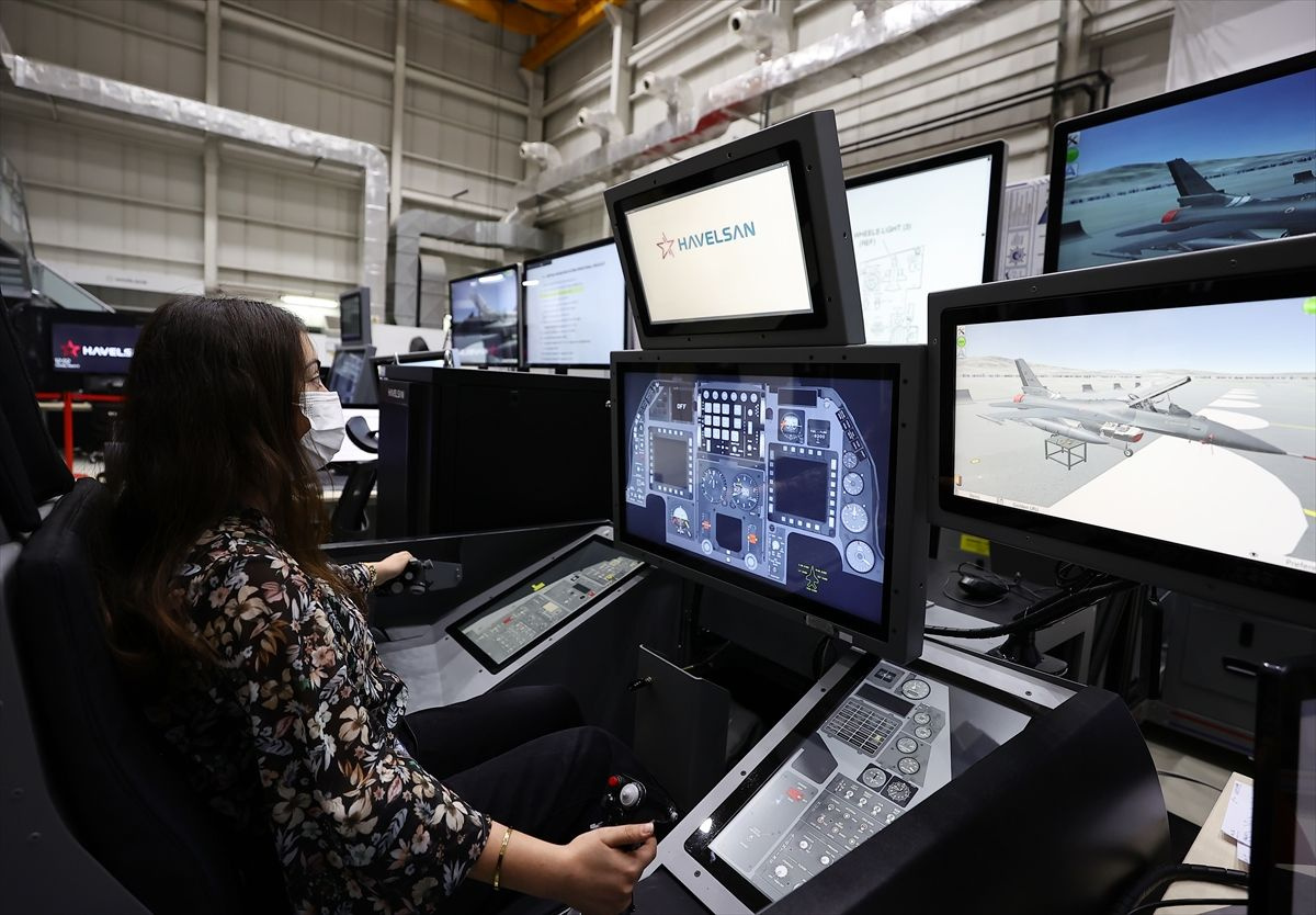 F16 için geliştirilen simülatörden ihracat fırsatı çıktı Havelsan mühendisleri geliştirdi