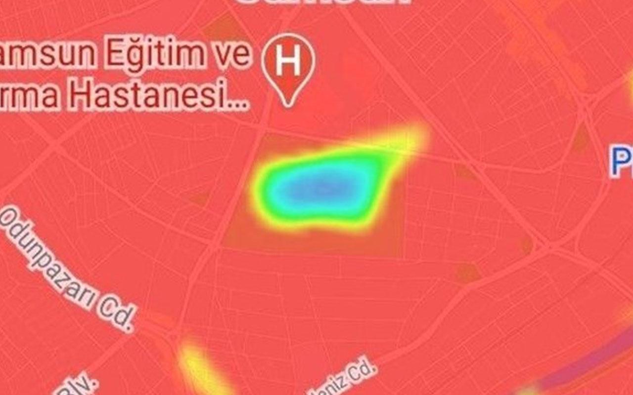 Samsun'da Covid-19 riskinin düşük olduğu tek yer mezarlıklar