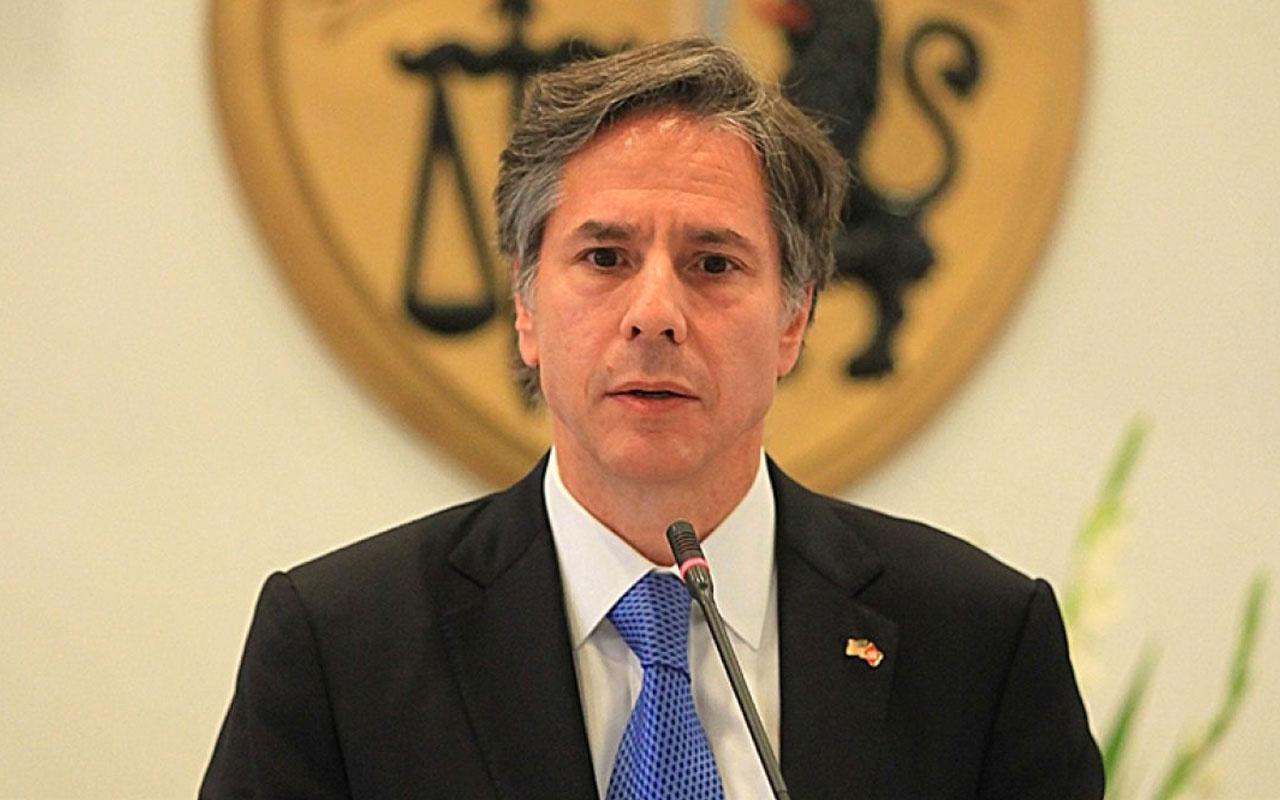 ABD Dışişleri Bakanı Blinken'den Doğu Akdeniz açıklaması! Barışçıl çözümler gerekiyor