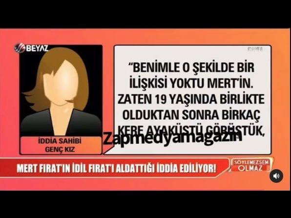 Mert Fırat İdil Fırat'ı defalarca aldattı dendi açıklama geldi skandal iddialar!