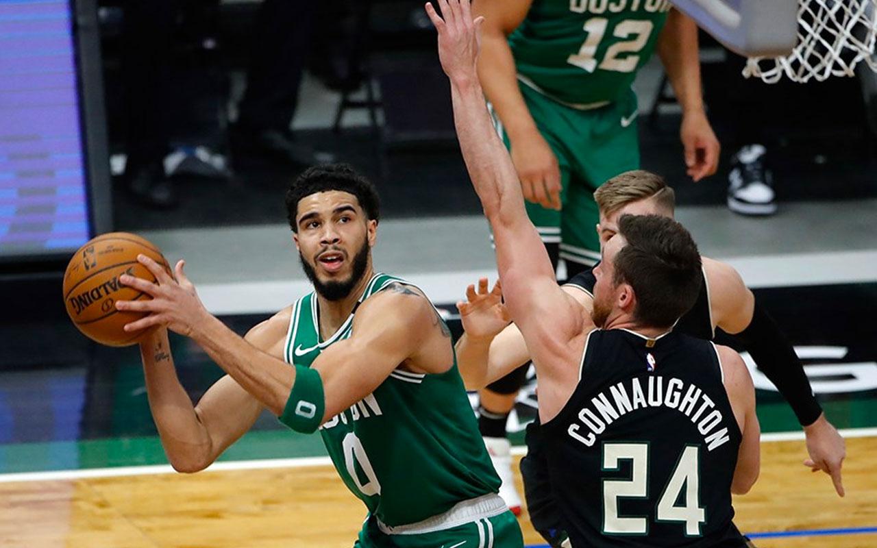 NBA'de Bucks'ın 8 maçlık galibiyet serisine Celtics son verdi