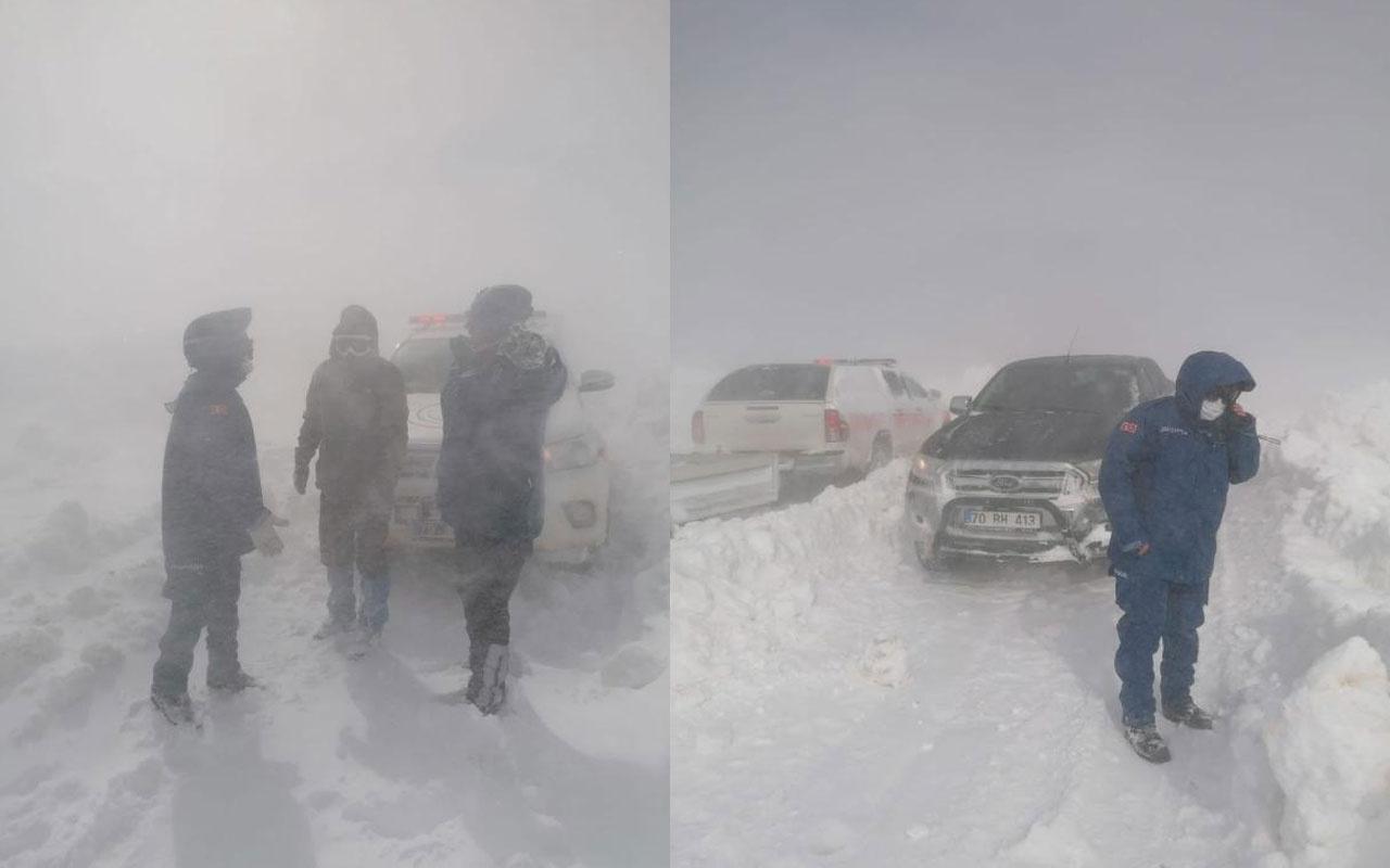 Karaman'daki kayıp! Telefonla ulaşılan Ege Kabalak askeri helikopterle kurtarıldı