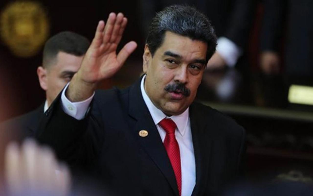 Venezuela Devlet Başkanı Maduro'dan Türkiye'ye aşı teşekkürü