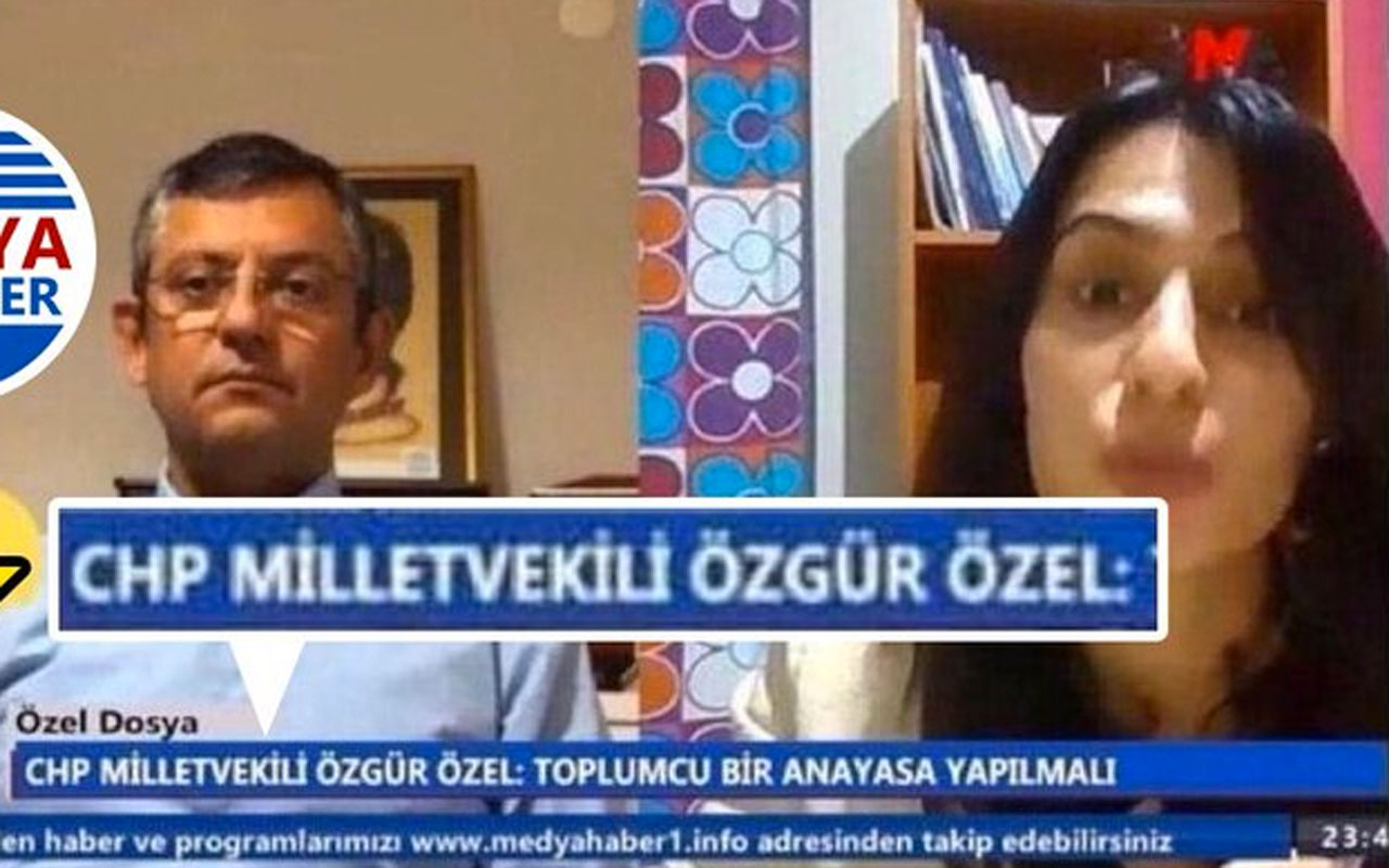 PKK yanlısı televizyona çıkan CHP'li Özgür Özel'e büyük tepki